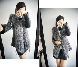 Body Warmer Coats Canada - New Fashion Womens Faux Fur Winter Warm Long Coat Outerwear Jacket Body slim faux fur coat S-XXXL Free Shipping WT07