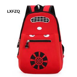 $enCountryForm.capitalKeyWord Canada - 3d Car School Bags Nylon Children 'S Backpacks Waterproof School Bags Kid 'S Backpack 3 Colors Kids Bag