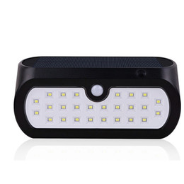 Patio walls online shopping - 26 LED Solar Light Outdoor IP65 Waterproof Wireless Motion Sensor Solar Wall Light Night Lighting for Garden Patio Pathway Garage Driveway