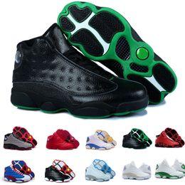 nike air Jordan 13 aj13 retro 2018 13 basket chaussures de basket sneaker  Altitude black cat Chicago blanc rouge DMP Hyper Royal Italy chaussures de  sport ... 724d1315d