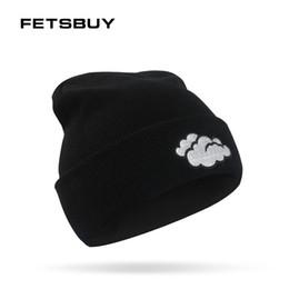 Warm Male Beanies NZ - FETSBUY Fashion Winter Hats For Women Men neutral Hat Female Male Thick Warm Men Skullies Beanies Rain Pattern Bonnet 2018