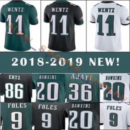 Philadelphia Eagles 11 Carson Wentz 9 Nick Foles 20 Brian Dawkins Men s football  jerseys top quality 4045ed5d1
