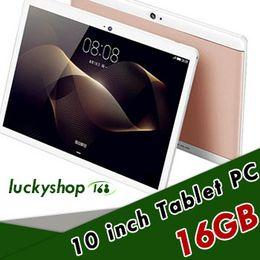 Ingrosso 20X di alta qualità Octa Core da 10 pollici MTK6582 IPS touch screen capacitivo dual sim 3G tablet telefono pc android 6.0 4 GB 64 GB