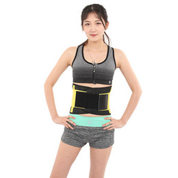 eb58a215573 XXL Plus Size Adjustable Women Mesh Waist Training Power Belt Sport GYM  Fitness Belt Corset Body Shaper Free Shipping