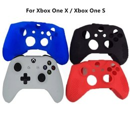 $enCountryForm.capitalKeyWord NZ - Free shipping Durable Soft Protective Silicon Rubber Cover Skin Case for Xbox One S Slim Xbox One X Controller