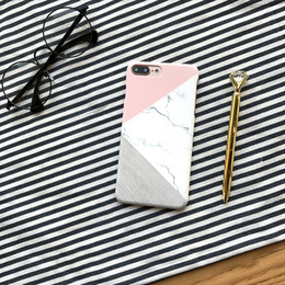 marble roses 2019 - For Iphone X Phone Cases Color Matching Marble Pc Hard Frosted Full Coverage Pattern Cell Phone Case For Iphone 6 7 8 Pl