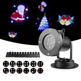 $enCountryForm.capitalKeyWord Australia - Christmas Lights Decoration Waterproof LED Projector Light Landscape Lawn Lamp 110V 220V Spotlight 12 Styles For Holidays Decor