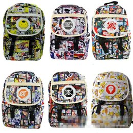 Anime Naruto Printing Cartoon Backpack School Bag Student Rucksack Shoulder  Bags Large Book Satchel Purse Collection Boys Gifts MMA625 4dba25368d471