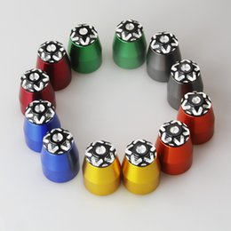 Motorcycle Grip Caps NZ - Universal Motorcycle Handlebar Plugs For Grips Bar End Caps Aluminum For Z1000 Z1000SX Z800 Z750