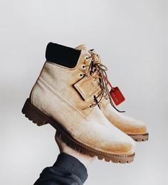 4cfb2b51cd1 Snow boots 2018 classic heels suede men women winter boots warm fur plush  Insole ankle boots men women shoes hot lace-up shoes 36-46