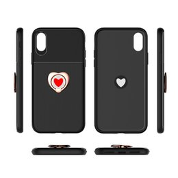 plastic covers mobile phones 2019 - Hottest Female style for iphone cases Business heart Kickstand Soft Phone Case For Samsung mobile case PC+TPU cover Coqu