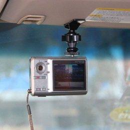 2017 neue Heiße Auto Sonnenblende Clip Halter 1/4 Autoinnenausstattung Drehgewinde für Digitale Sport Kamera Radar Tester