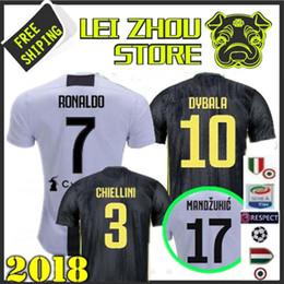 Ronaldo Grey Jersey Canada - Thai Quality Ronaldo Soccer Jersey 2018 2019 goleiro italiano GK camisas MARCHISIO DYBALA Morata Goleiro BUFFON Champions League Jersey