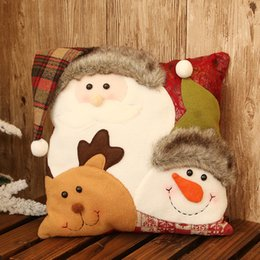 $enCountryForm.capitalKeyWord NZ - Christmas Snowman Pillow Cushion Room decor Christmas Decorations for Home New Year Christmas Birthday Couple Gift Navidad Natal Y18102609