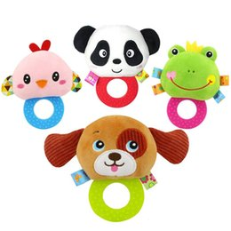 Discount easter gifts toddlers 2018 easter gifts for toddlers on newborn rattles toy hand bell toddler infant rings interactive cute cartoon animal plush toys baby early education gift easter gifts toddlers outlet negle Images