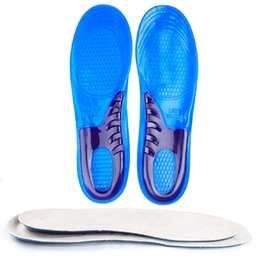 Chinese  Gel Insoles for Shose Man Women Insoles orthopedic Comfortable Massaging Shoe Inserts Shock Absorption High Quality 1 pairs manufacturers