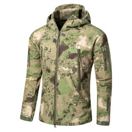 $enCountryForm.capitalKeyWord UK - Men's Tactical TAD Large Size 5XL Soft Shell Shark Skin Waterproof Windproof Jacket Outdoor Camping Climbing Coat Army Clothes Y1893006