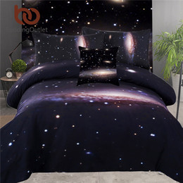 Discount king size 3d galaxy bedding - BeddingOutlet 5pcs Bed in a Bag Bedding Set 3d King Size Galaxy Bed Cover Set Discount Bedspread Queen for Bedroom