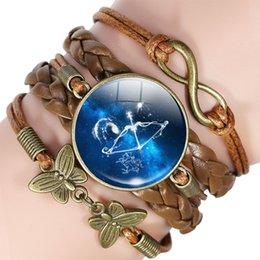 SchlÜsselanhÄnger Sternzeichen Jungfrau Virgo Vergoldet Keychain Star Sign Neu QualitäT Zuerst Luxus-accessoires