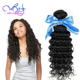 $enCountryForm.capitalKeyWord Australia - WYF Indian Hair Bundles With Frontal Closure Deep Wave Human Hair Extensions 3 Bundles Indian Virgin Human Hair Weave Natural Color Dyeable