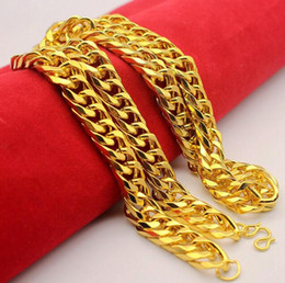 $enCountryForm.capitalKeyWord NZ - Gold Plated Stainless Steel Bracelets skills he Cuban Chain Men's Jewellery Fashion, long 21 mm , wide 9mm , Wholesale Free Shipping B4