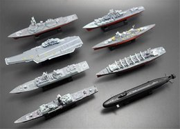 Toy miliTary ships online shopping - 4D Assembled Ship Model Liaoning Battleship Modern Class Battleship Aircraft Carrier Model Military Warship Model Toy