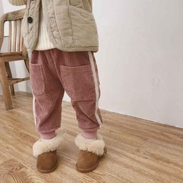 $enCountryForm.capitalKeyWord Australia - Winter new fashion baby corduroy pants boys thicken solid trousers children keep warm bottoms child autumn spring pants Hot products Keep