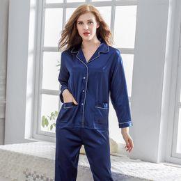 3b2f71fce Women Nightwear Brands Australia - NewBang Brand Women Two Pieces Silk  Pajamas Sets Satin Pajamas Women s