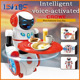 metal balance toys NZ - Intelligent Programming LED Light Dancing Humanoid Robot remote control Robot sing dance balance robot electronic toys dog