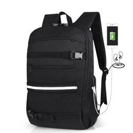 male laptop bags UK - Stylish Travel Large Capacity Men Backpack Male Luggage Shoulder Bag Laptop Backpack Men Women Functional Travel Versatile Bags