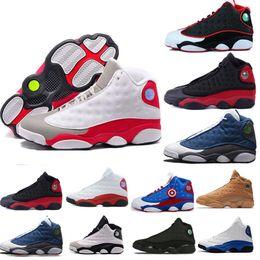 14f25288f72 New 13 He Got Game men basketball shoes Phantom black cat Chicago bred Melo  Class 13 13s Hyper Royal sports sneaker size 5-13