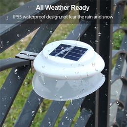 $enCountryForm.capitalKeyWord Australia - LED Solar Lamp Light Sensor UFO Light Waterproof Warm White 9 LEDs Street Garden Pathway Light Outdoor Wall Lamp Outdoor Roof Fence H337