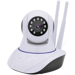 Pan hd iP camera audio online shopping - HD P Wired Wireless Wifi Pan Tilt Night Vision Two Way Audio Smart Home Security IP Camera Onvif Baby Monitor