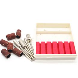 $enCountryForm.capitalKeyWord NZ - Nail Electric Drill Bits Kit Sanding Bands File Set Professional Filing Machine Pedicure Manicure Tools UV Gel Remover Pen H151