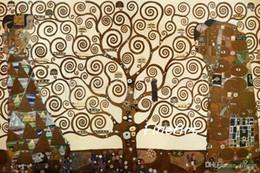 Klimt Paintings Australia - handmade canvas oil painting reproduction of famous artist gustave klimt canvas art sofa set design canvas painting home décor