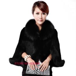 $enCountryForm.capitalKeyWord Canada - Autumn And Winter Imitation Fox Shawl Cloak Seven Sleeves Short Section Coat Faux Fur Free Shipping New High-end Women's Z