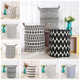 Etonnant Discount Canvas Storage Bins Ins Storage Baskets Bins Kids Room Toys Storage  Bags Bucket Clothing Organization