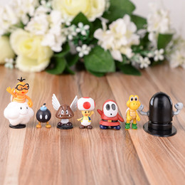 Wood toy kits online shopping - creative Mario Bros Phone hanger Lovely Stereoscopic Cartoon Garage Kit Ornament Action Figures Toy hot sale xl WW