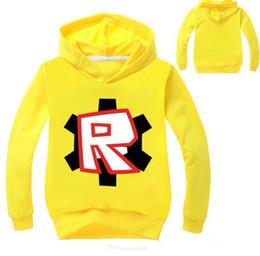 4ea6da2c22 Roblox Canada - 2018 Spring Roblox T-shirt For Kids Boys Sweayshirt For  Girls Clothing