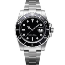 Ingrosso Orologi da uomo di lusso Orologi di qualità Moda Uomo cinturino in acciaio automatico orologio meccanico 2813 orologio da polso Sapphire