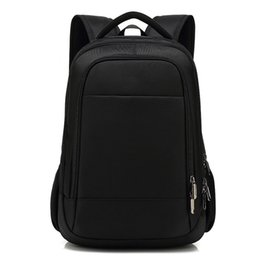 back pack boy UK - Casual Men Waterproof Laptop Backpack Simple Anti Theft Bagpack Travel Back Pack School Bags for Boys