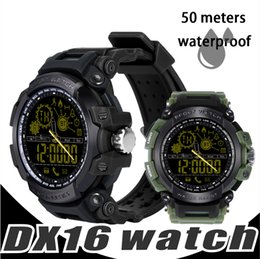 Smartwatch clock online shopping - Smart Watches DX16 Smartwatch Passometer Smart Clock Smartwatch Waterproof For Android Smartphone ATM Activities Tracker