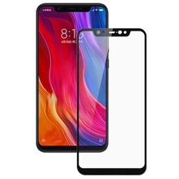 Wholesale tempered glass for xiaomi note for sale - Group buy Printing Tempered Glass H Hardness Hard Edge Slim Screen Protector Guard Film For Xiaomi Mi SE Lite X Plus Note Mix Max POCO F1