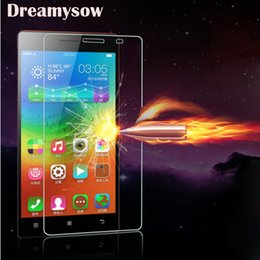 Discount lenovo vibe pro - Tempered Glass For Lenovo Vibe P1 A319 A328 A536 A2010 A6000 A7000 K920 Vibe Z2 Pro K3 Note S90 S850 P780 Protect Film