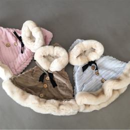 $enCountryForm.capitalKeyWord Australia - Vieeoease Girls Poncho Christmas Kids Clothing 2018 Winter Fashion Fur Wool Plush Coat for Girls EE-1082