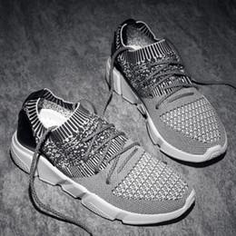 primavera estate stringate sportive scarpe da corsa per adulti comode sneakers nere maschili all'aperto Leggero plus size 39-47