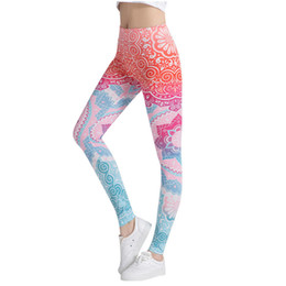 white girls yoga pants sexy 2020 - Vertvie Floral Printed Sexy Women Yoga Pants Jogging Running Sports Leggings Compression Tights Female Trouser Girls Spo