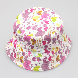 $enCountryForm.capitalKeyWord UK - 2018 New Fashion Toddler Kids Baby Boys Girls Floral Pattern Bucket Hats Sun Helmet Cap soft Comfortable Spring Summer accessory