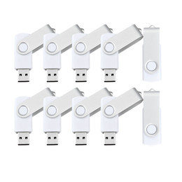 32gb pen Australia - 10 Pack White 32GB USB 3.0 Flash Drives Enough Pen Drive 32gb Thumb Storage Flash Memory Stick U Disk for Computer Macbook Tablet Laptop