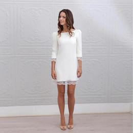 Discount Simple Silk Backless Wedding Dress | Simple Silk Backless ...